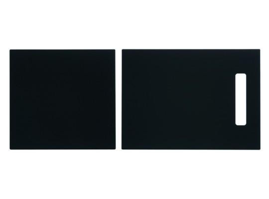 Skleněná krájecí deska černá