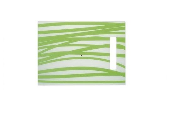 Skleněná krájecí deska zelená