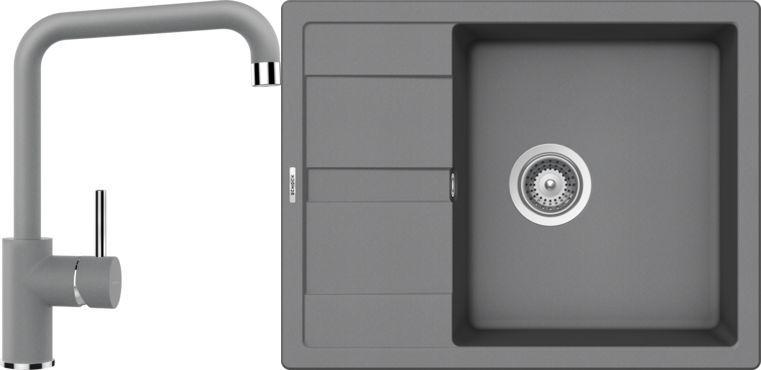 Set 9c Dřez Manhattan D-100 Croma + kuchyňská baterie Fonos Croma