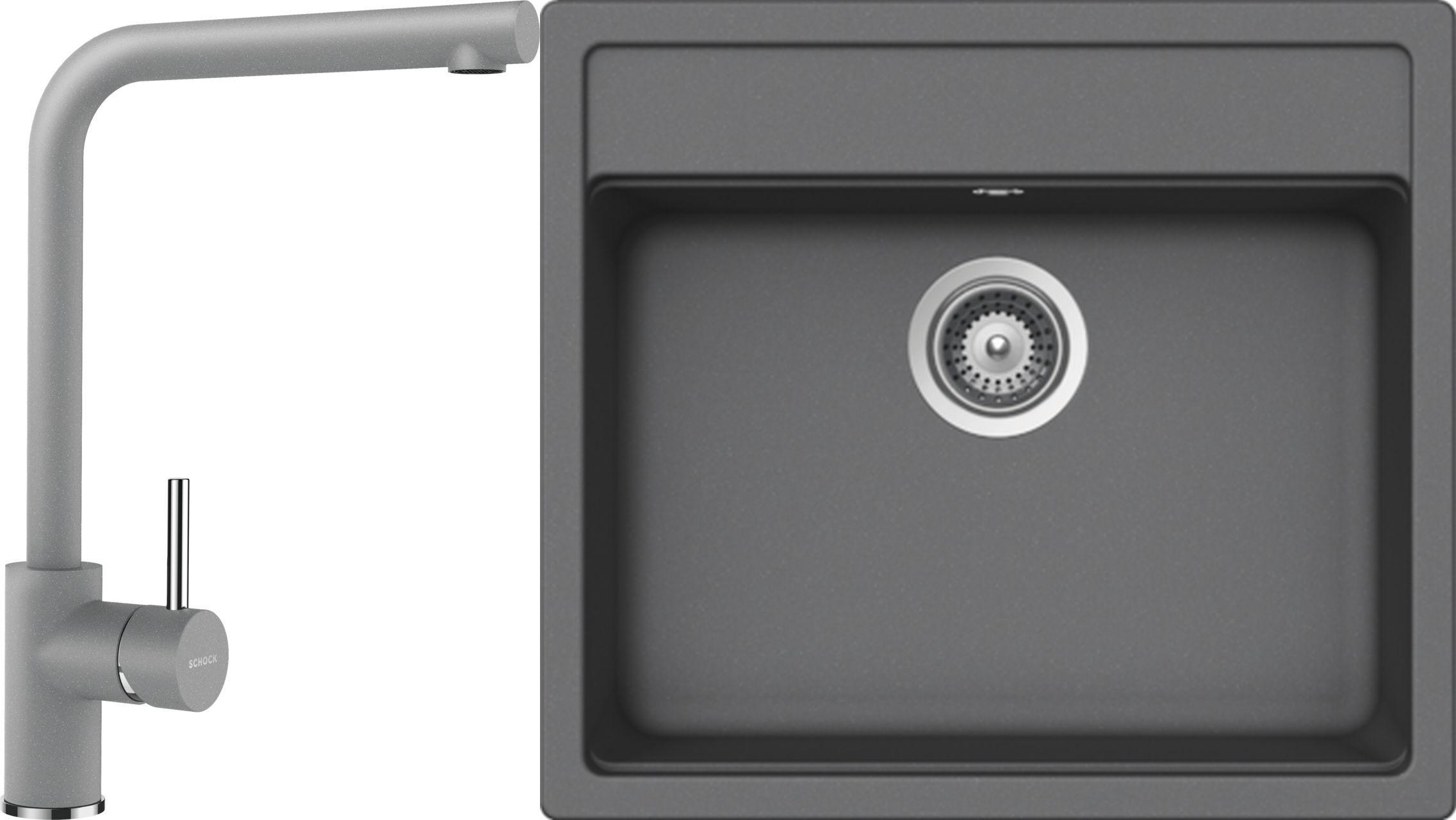 Set 35c Dřez Nemo N-100 Croma + kuchyňská baterie Napos Croma